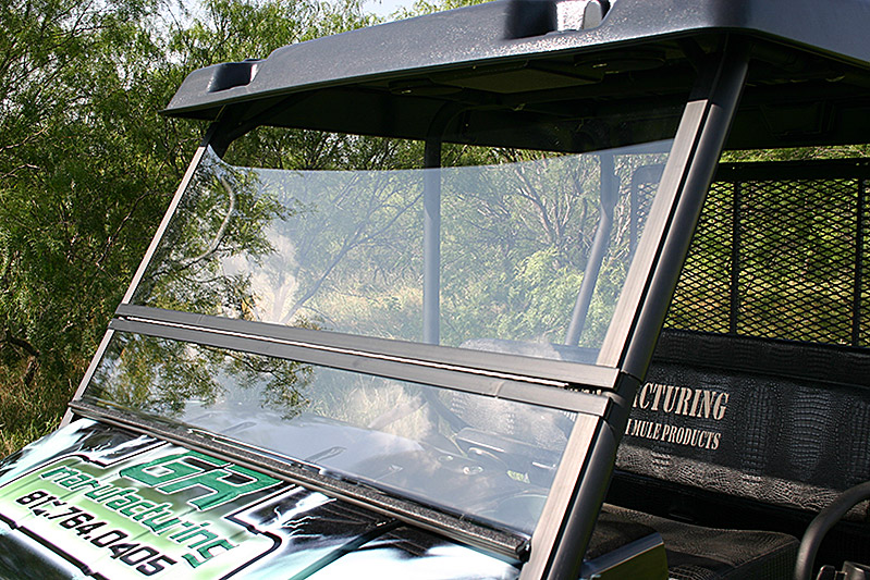 kawasaki mule 4000–series windshield « utvproducts