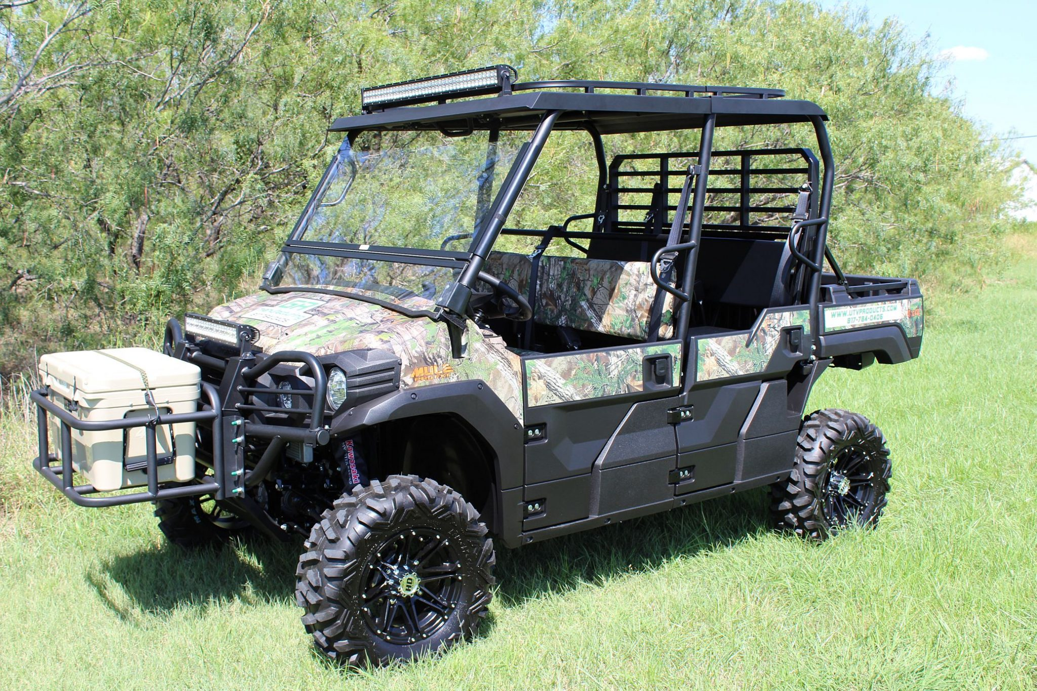 New Steel Heavy-Duty Tops for Mule Pro FXT !